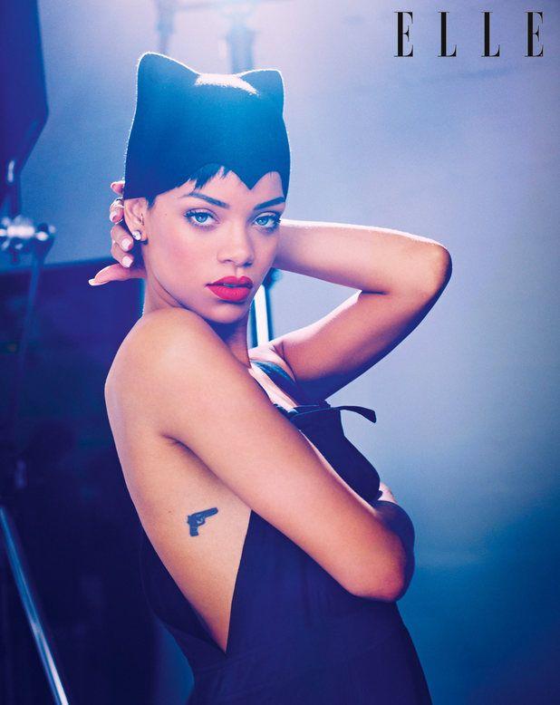 "Tatuaje de Rihanna por Keith ""Bang Bang"" McCurdy"