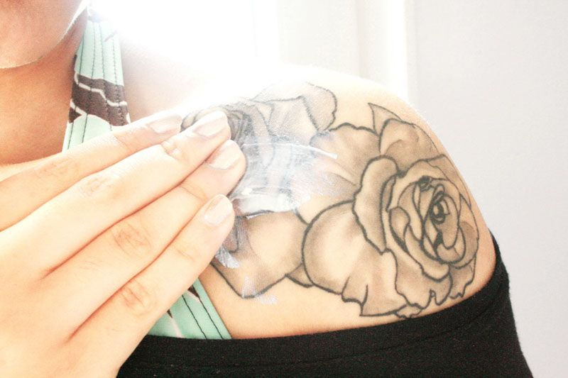 Como cuidar un tatuaje 2
