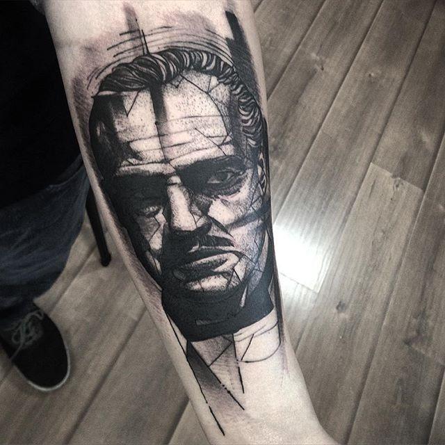 Tatuaje de Don Corleone