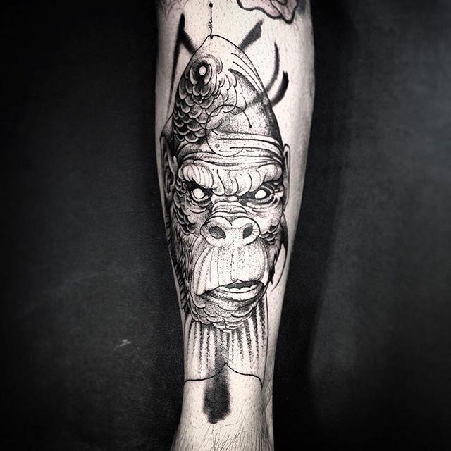 Tatuaje de Gorilla