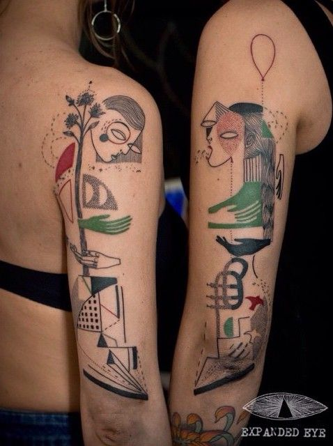 Tatuado por Expanded Eye Tattoo