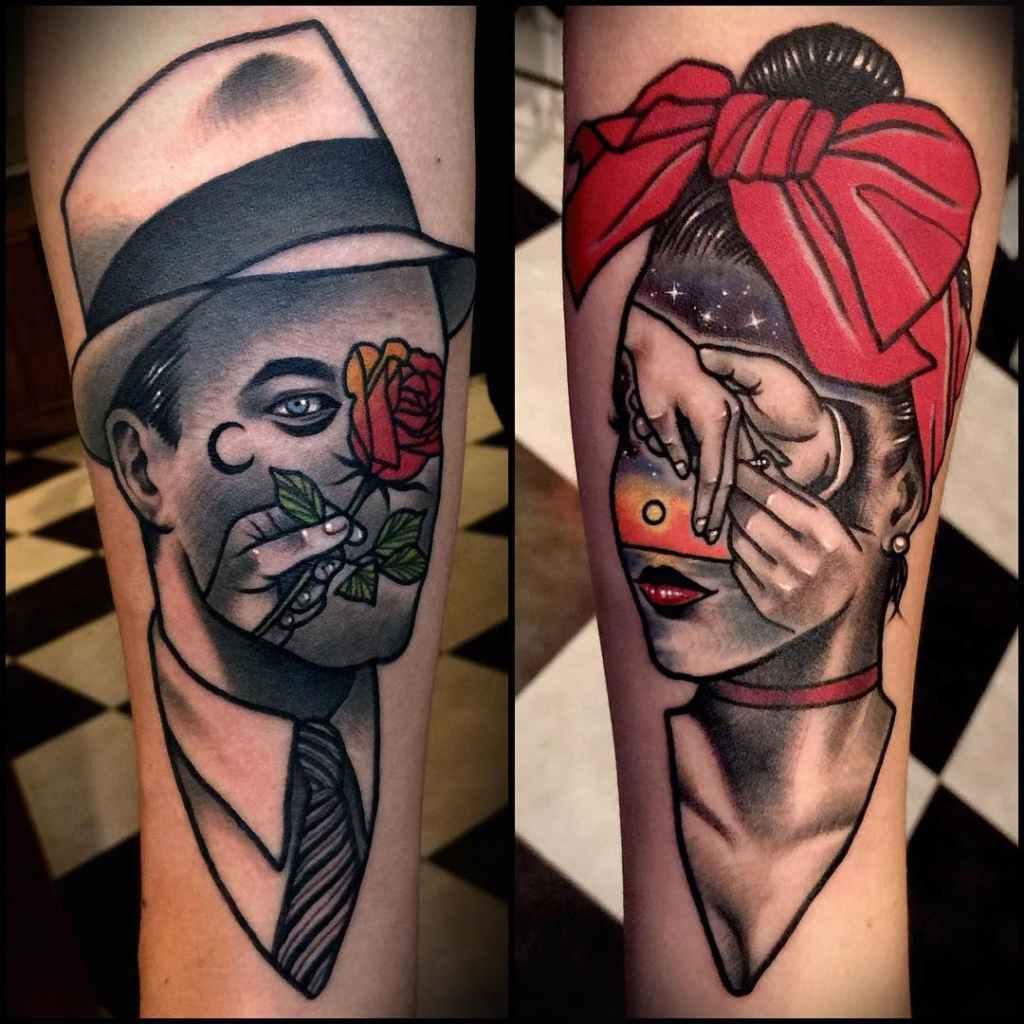 25 Tatuajes Para Parejas Obras Maestras Para Compartir