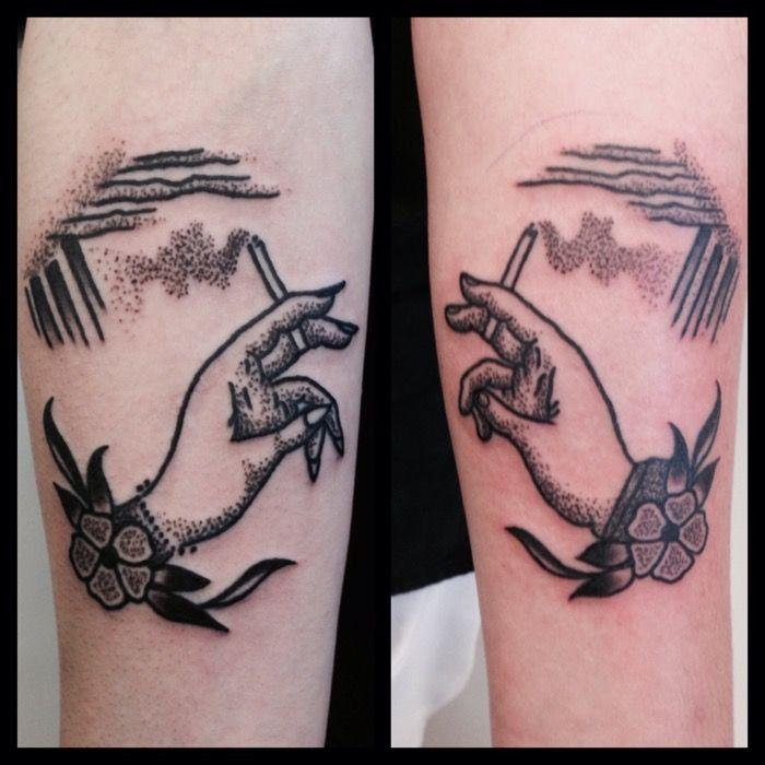POr Lone Wolf Tattoo
