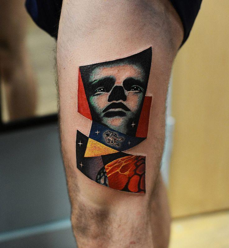 Tatuaje realizado por David Cote