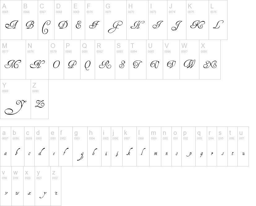 Nombre en Dafont henry morgan hand28