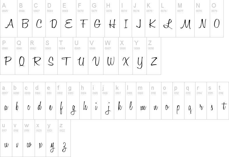 Nombre en Dafont honey script 29