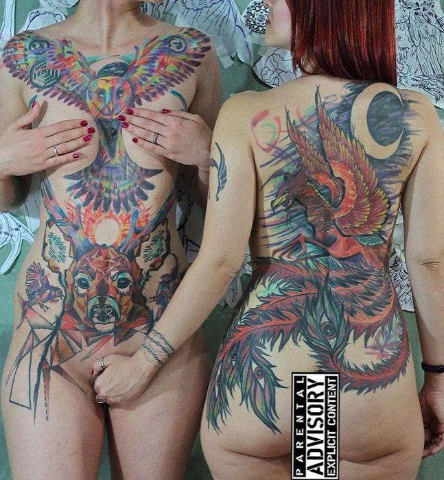 Descubre al artista brasileño Andre Cruz Tattoo y su estilo increíble 22