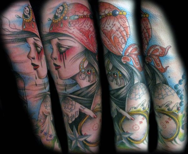 Foto del catalogo de tatuajes de Guen Douglas