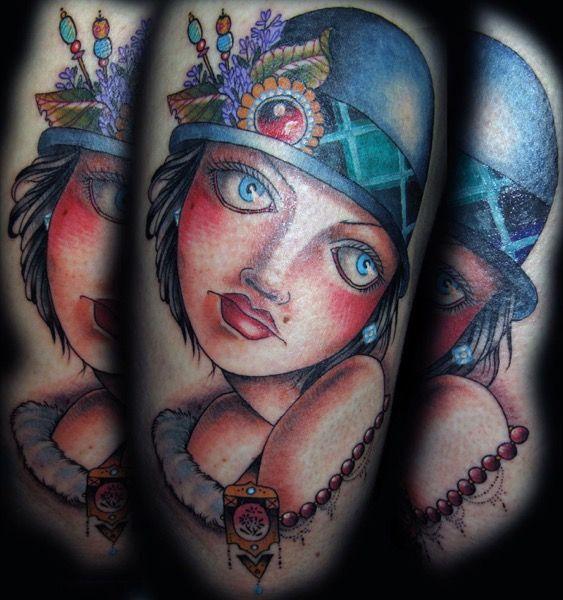 Tatuaje realizado por Guen Douglas