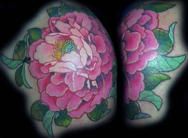 Flor realizada por Guen Douglas