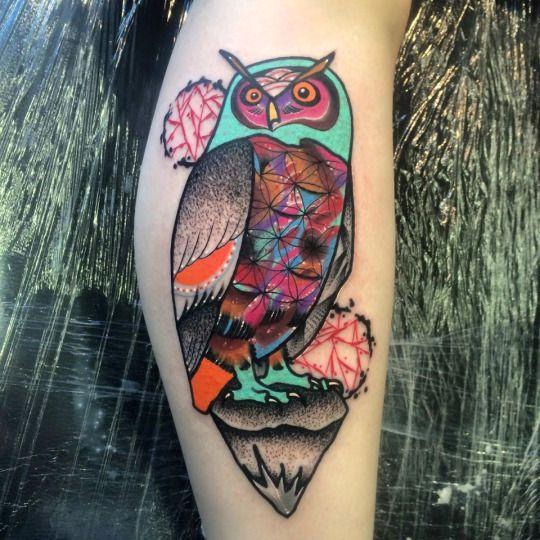 Tatuajes de buhos 15