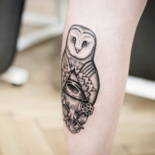 Tatuajes de buhos 35