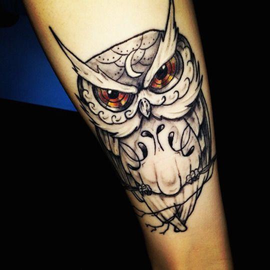 Tatuajes de buhos 40