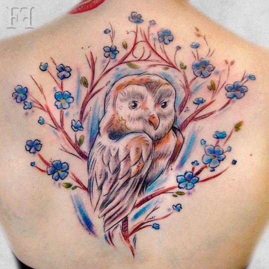 Tatuajes de buhos 43