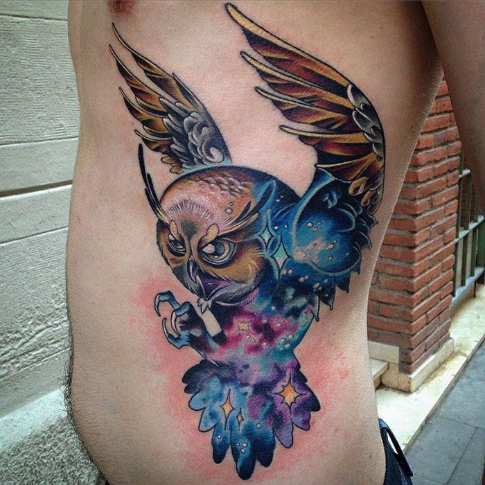 Tatuajes de buhos 25