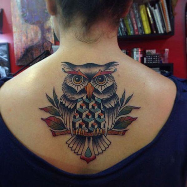 Tatuajes de buhos 45