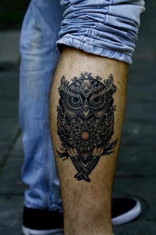Tatuajes de buhos 34