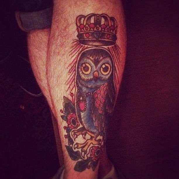 Tatuajes de buhos 50