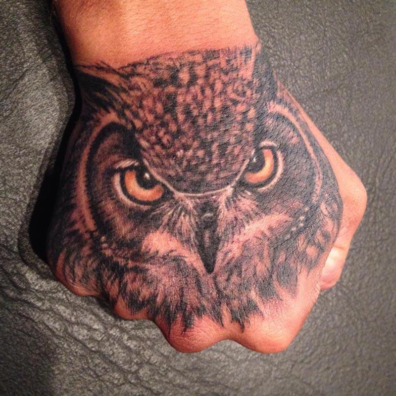 Tatuajes de buhos 54