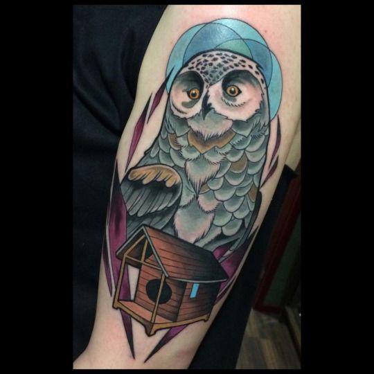 Tatuajes de buhos 4