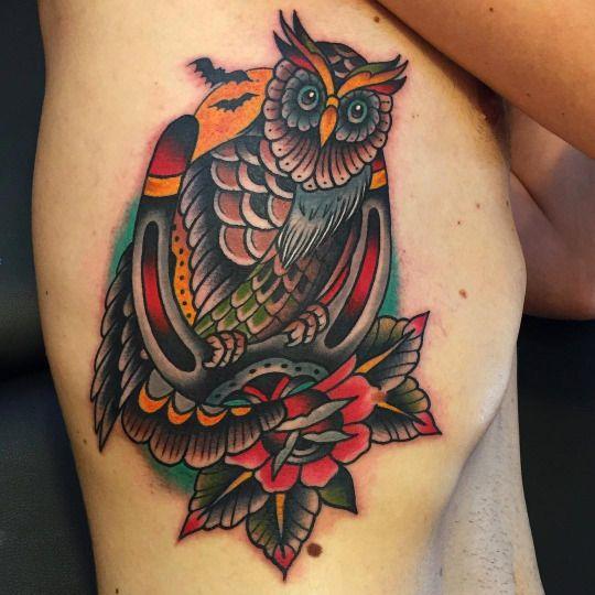 Tatuajes de buhos 66