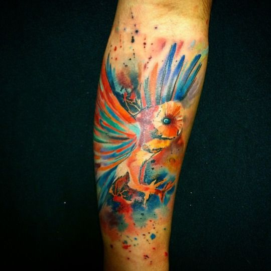 Tatuajes de buhos 28