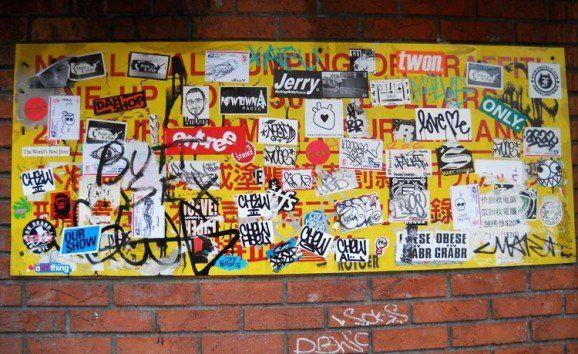 Arte callejero visto en Nueva York
