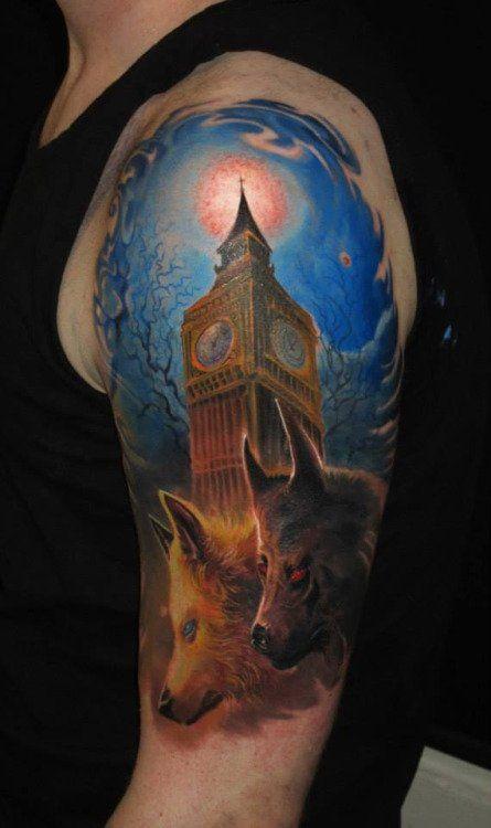 Tatuado por Piotr Deadi Dedel