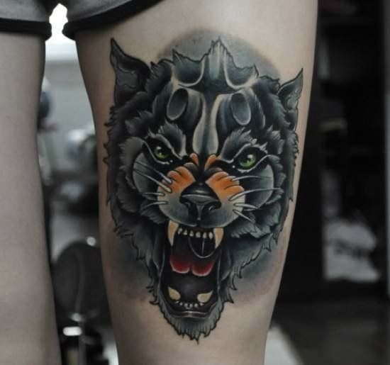 Tatuado por Aleksandr Okharin