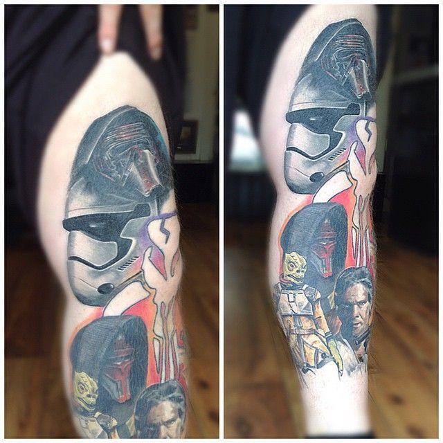 Kilo Ren Stormtrooper por Louis McKee