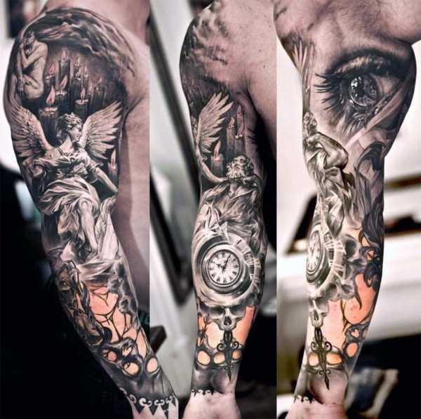 Tatuajes en 3d, ¿Qué son y como se hacen? 29 fotos!