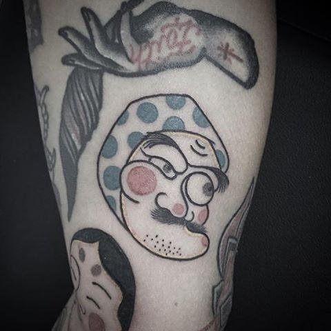 tatuaje por Dimitri Daleno