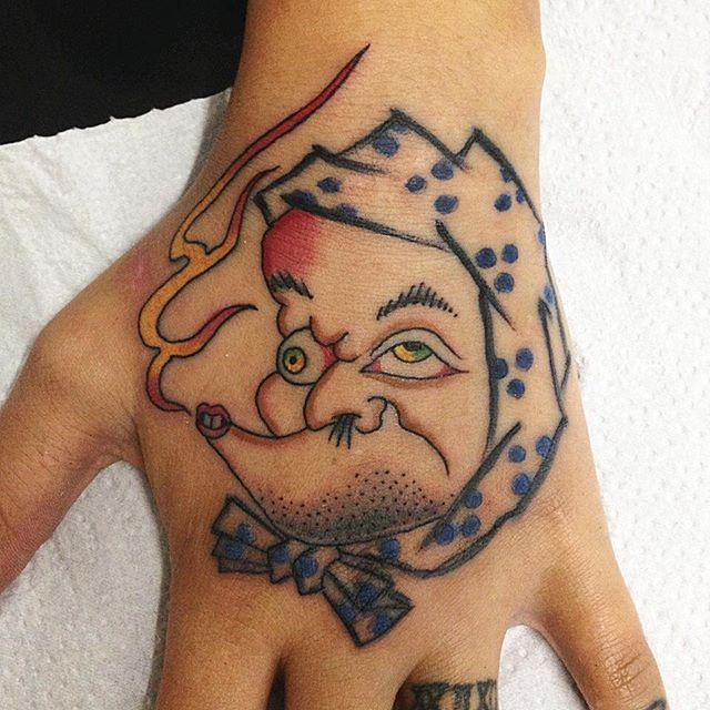 tatuado por Francisco Almeida