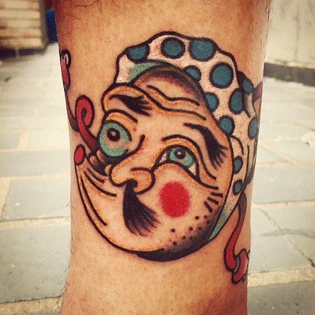 Tatuaje por Rafael Kendi
