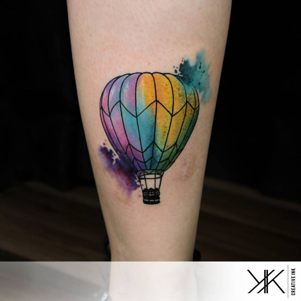 Un balon por Koray Karagözler