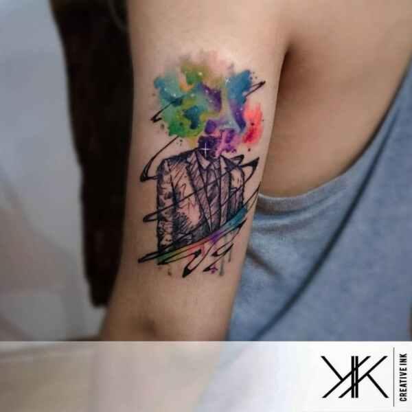 Tatuajes de acuarela llenos de energía por Koray Karagözler 18