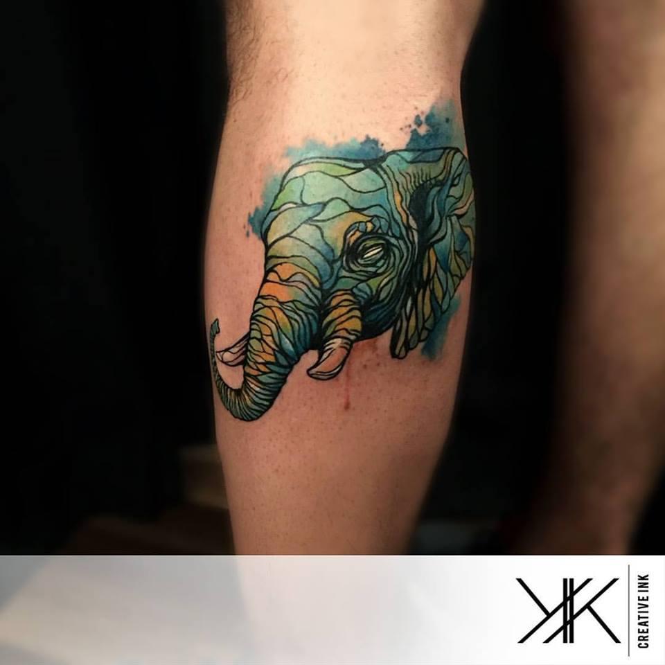 Un elefante por Koray