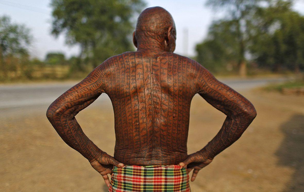 Tatuajes Rammami Samaj: el tatuaje del pueblo de Dios 1