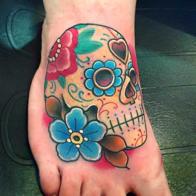 tatuajes puta trabajo de mano