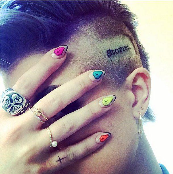 Tatuajes de Kelly Osbourne