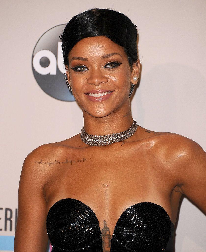 tatuajes de la bella Rihanna