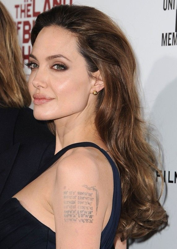 Brazo de Angelina Jolie