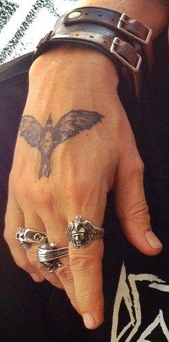 Mano de Johnny Depp