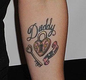 Tatuaje de Kelly Osbourne