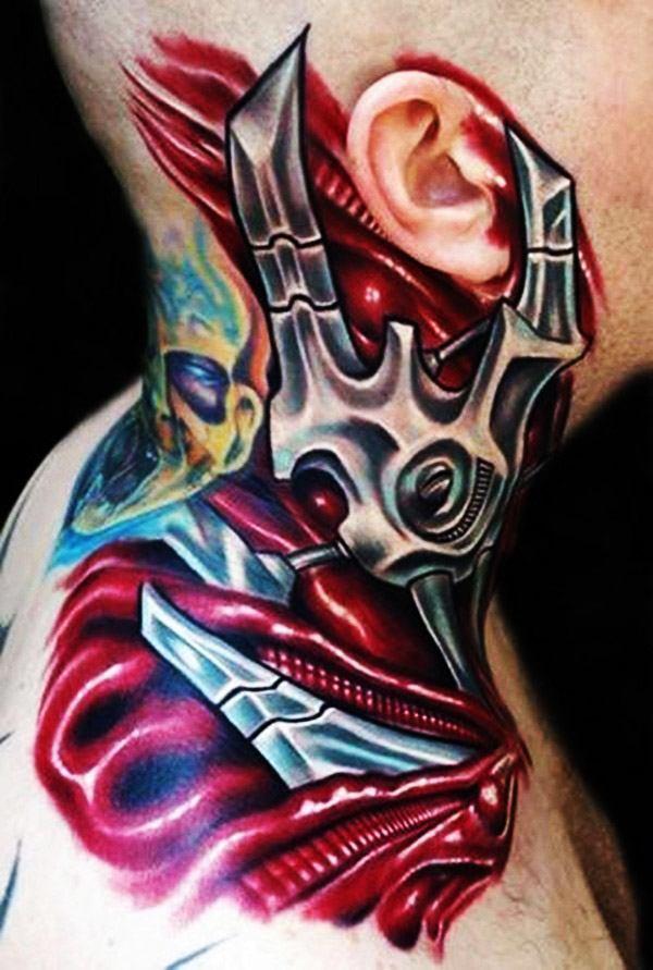 Lujoso Galería De La Anatomía Tatuajes Imágenes - Imágenes de ...