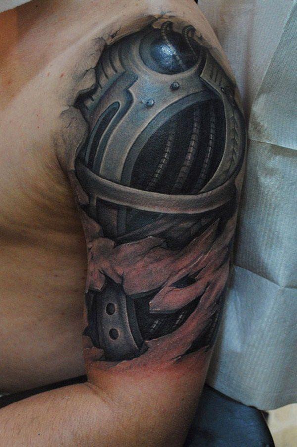 Tatuajes biomecanicos, las mejores fotos de la web