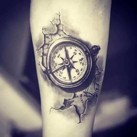 Tatuajes De Brujulas Las Mejores Fotos De La Web