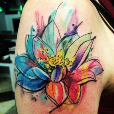 Tatuajes De Flor De Loto Descubre Nuestra Selección