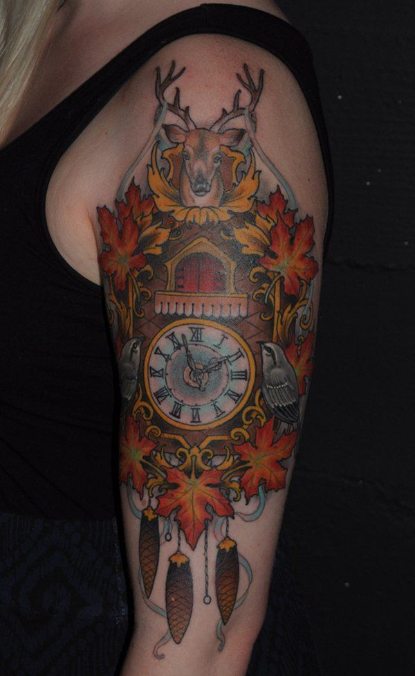 Tatuajes de relojes gran clasico de los tatuajes for Reloj para tatuar
