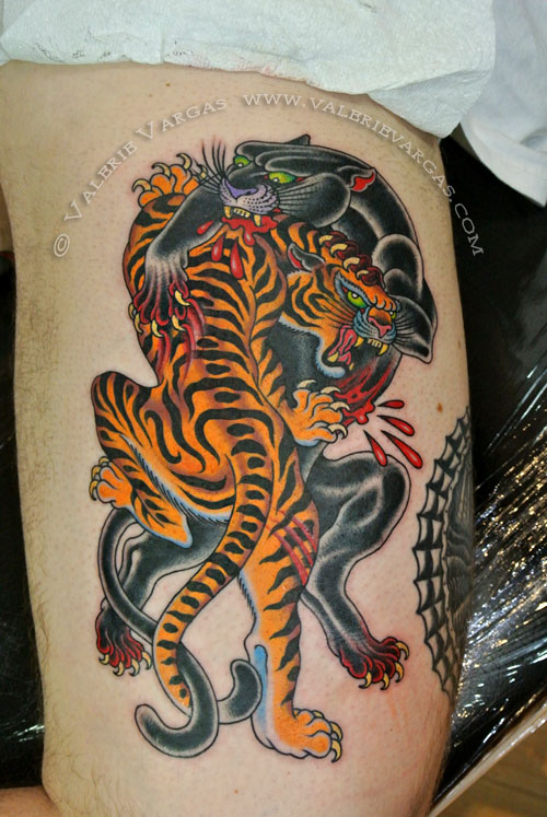 tatuajes de tigres las mejores fotos de la web. Black Bedroom Furniture Sets. Home Design Ideas